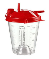 Suction Canister 800 mL Pour Lid AG784410 Each/1