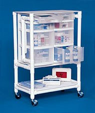 Utility Cart 30 X 44 X 17.5 Inch 8-Drawer NSC24 Each/1