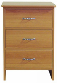 Bedside Chest Avondale Collection 21 X 30 X 18 Inch 3-Drawer A31-22S Each/1 - 31105009