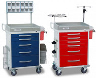CART EMER LOAD 5DRWR RED D/S EA DETCTO RC33669RED-L Each/1