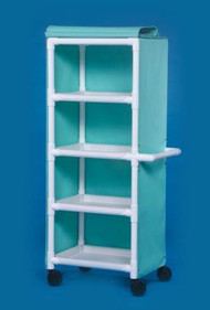 Utility Cart 20 X 31 X 66 Inch 4-Shelves KDMPC400 Each/1