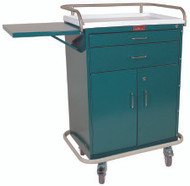 Treatment Cart Classic Line Steel 44.5 X 22 X 32 Inch 2-Drawer / 1-Shelf Beige 6201 Each/1