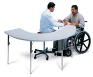 TABLE THERAPY W/ADJ HT D/S 1/EA HAUSMAN 6674 Each/1