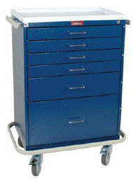 Treatment Cart Classic Line Steel 41.5 X 22 X 32 Inch 6-Drawer Beige 6450 Each/1