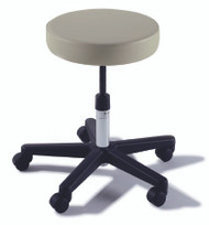 Exam Stool Ritter 270 Value Series Backless Spinlift Height Adjustment 5 Casters Shadow Gray 270-001-232 Each/1