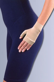 Compression Glove Jobst Ready-to-Wear Fingerless Large Over-the-Wrist Ambidextrous Stretch Fabric 101321 Each/1