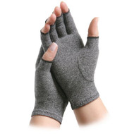 Arthritis Glove IMAK Open Finger Large Over-the-Wrist Hand Specific Pair Cotton / Lycra 081564707 Pair/1