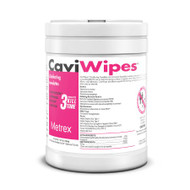 Surface Disinfectant CaviWipes Premoistened Wipe 160 Count Canister Manual Pull Alcohol Scent 13-1100 Case/1920