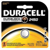 Duracell Lithium Battery 2450 Cell 3V Disposable 1 Pack DL2450BPK Box/6