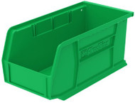 AkroBins Storage Bin Green Industrial Grade Polymers 5 X 5-1/2 X 10-7/8 Inch 30230GREEN CT/12