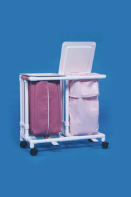 Double Hamper with Bags Classic 4 Casters 39 gal. LH22 Each/1 - 22087809
