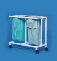 Double Hamper with Bags Select 4 Casters 39 gal. ELH02 Each/1 - 20027807