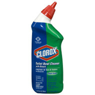 Toilet Bowl Cleaner Clorox NonAcid Gel 24 oz. Bottle Manual Squeeze Fresh Scent 00031 Case/12