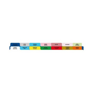 CHART DIVIDER SD 14 TAB D/S 14/PK FIRST HLTH M2460 Pack/14
