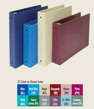 Chart Holder Burgundy 205009-BU-3 Each/1