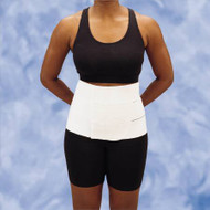Abdominal Binder DeRoyal Medium / Large Hook and Loop Closure 46 to 62 Inch 9 Inch Unisex 13662067 Each/1
