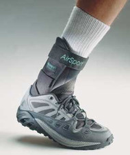 Ankle Brace AirSport Small Hook and Loop Closure Female Size 7.5 - 9 / Male Size 5 - 8.5 Left Foot 64484 Each/1