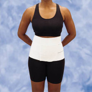Abdominal Binder DeRoyal Medium / Large Hook and Loop Closure 46 to 62 Inch 12 Inch Unisex 13982000 Each/1