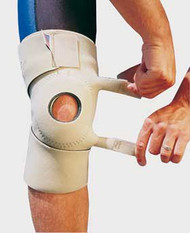 Knee Support One Size Fits Most Hook and Loop Strap Closure Up to 25 Inch Circumference 11-1/2 Inch Length Left or Right Knee 6740 Each/1 - 67403009