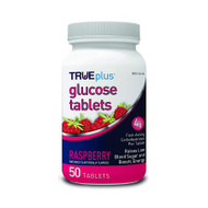 Glucose TRUEplus 50 per Bottle Tablet Raspberry P1H01RS-50 BT/50