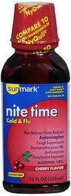 Cold Relief sunmark 650 mg / 30 mg / 12.5 mg Strength Liquid 12 oz. 1409556 Each/1