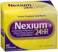 Antacid Nexium 24HR 22.3 mg Strength Capsule 14 per Bottle 2031680 Pack/42