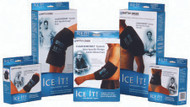 Cold Pack Ice It! A*Pack Neck / Jaw / Sinus Standard 4-1/2 X 8-1/4 Inch Vinyl Reusable 500 Each/1