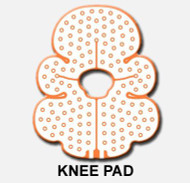 Cold Therapy Pad Cold Rush Knee Single Use B-232002000 Each/1