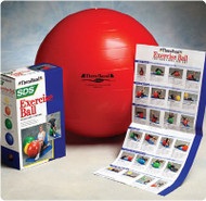 Exercise Ball Thera-Band Blue 21-1/2 Inch 553464 Each/1