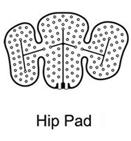 Cold Therapy Pad Cold Rush Left Hip Reusable B-232602100 Each/1