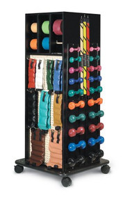 Accessorized Weight Rack Mega-Rack From 1 to 10 lbs. 5562-100 Each/1