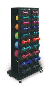 Weight Rack Econo* 30 W X 59-1/2 H X 18 D Inch, 4 Sided 5566 Each/1