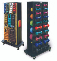 Accessorized Weight Rack Economy From 1 to 10 lbs. 5566-100 Each/1