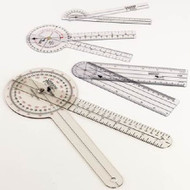 Goniometer 0 - 90 Degree / 0 - 180 Degree Inches and Centimeters 8 Inch 7512 Each/1
