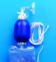 Resuscitator Bag Adult Nasal / Oral Mask 2K8004 Case/6