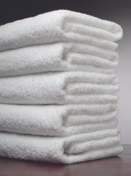 Bath Towel 22 W X 46 L Inch Cotton, 86% / Polyester, 14% White Reusable 40143100 DZ/12 - 40148109