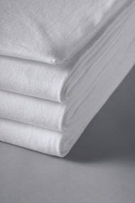 Bariatric Bed Sheet Fitted 48 X 84 X 12 Inch White Cotton 60% / Polyester 40% 07488400 DZ/12