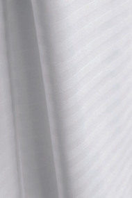 Bed Sheet ComforTwill Flat 66 X 120 Inch White Cotton 70% / Polyester 30% Reusable  DZ/12