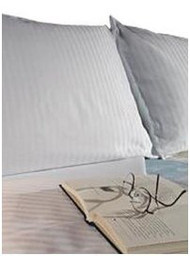 Bed Sheet ComforTwill Fitted 54 X 80 X 11 Inch White Cotton 70% / Polyester 30% Reusable  DZ/12