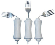 Fork UBend-It Angled White Stainless Steel 746190000 Each/1