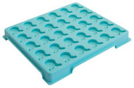 Medicine Dispenser Tray Green Styrene 3154 Each/1