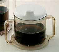Drinking Mug AliMed 10 oz. Clear Plastic Reusable 860020 Case/20