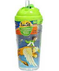 Sippy Cup Evenflo Zoo Friends 10 oz. Assorted Prints Reusable 6428511 Each/1