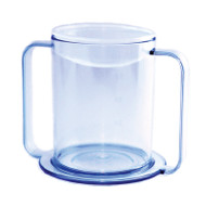 Drinking Mug 12 oz. Clear Plastic Reusable 565960 Each/1