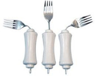Soup Spoon UBend-It Built-Up Handle White Stainless Steel 8281306 Pack/6