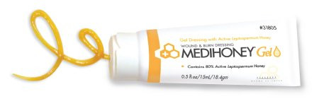 Medihoney Gel Dressing, 0.5 oz tube 10/box, 4 boxes/case