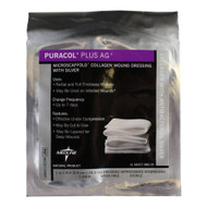 Collagen Dressing with Silver Puracol Plus Ag+ 4 X 4 Inch Square Sterile MSC8744EP Each/1