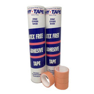 Medical Tape Hy-Tape Waterproof Zinc Oxide-Based Adhesive 1/2 Inch X 5 Yard NonSterile 105BLF Box/1