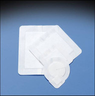 Composite Dressing Covaderm Plus 6 X 6 Inch Fabric 2-1/2 X 2-1/2 Inch Pad Sterile 46-402 Box/10