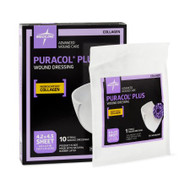 Collagen Dressing Puracol Plus Collagen 4.2 X 4.5 Inch, 2 mm Thick MSC8644EP Box/10